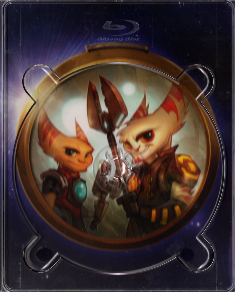 Ratchet & Clank: A Crack in Time (Collector's Edition) PlayStation 3 Inside Cover Inside - Middle