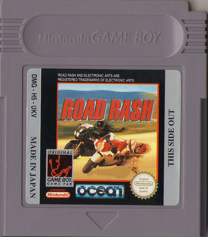 Road Rash Game Boy Media