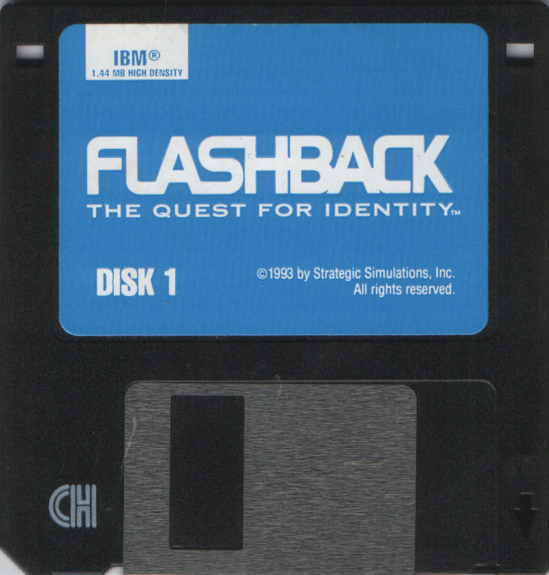 Flashback: The Quest for Identity DOS Media Disk 1/2
