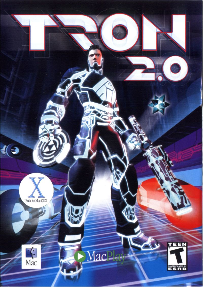 TRON 2.0 Macintosh Front Cover