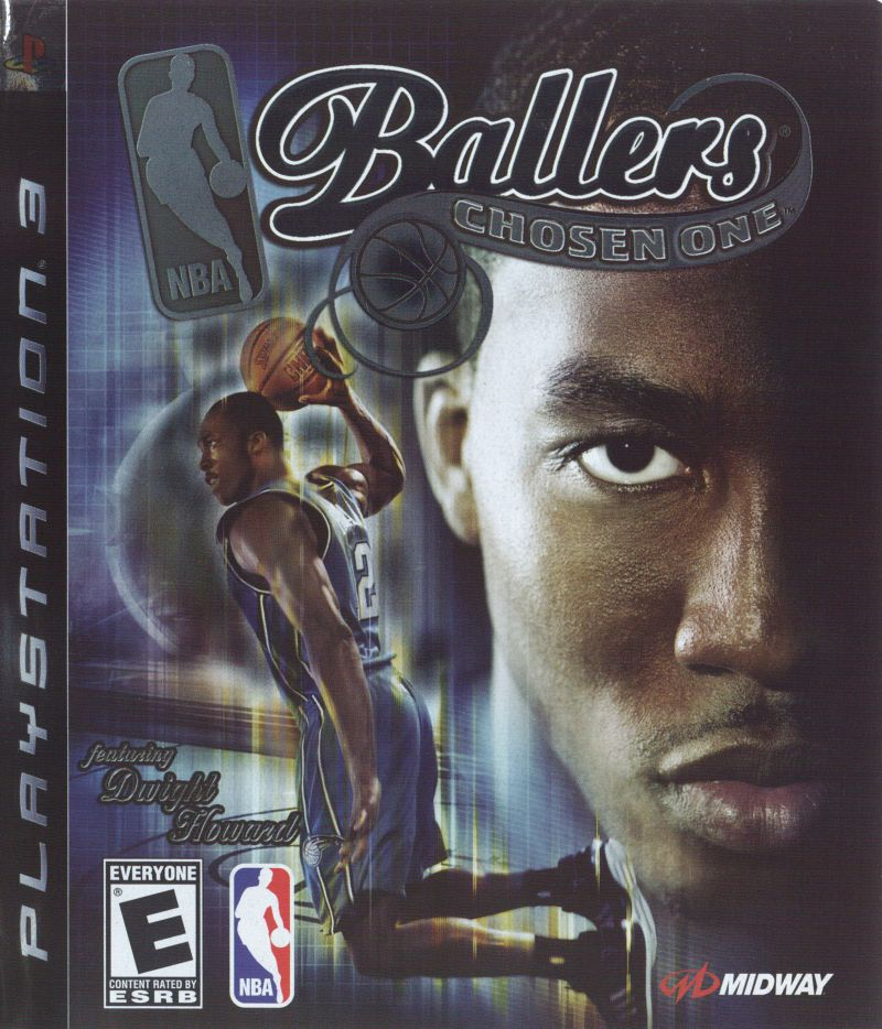 NBA Ballers: Chosen One PlayStation 3 Front Cover