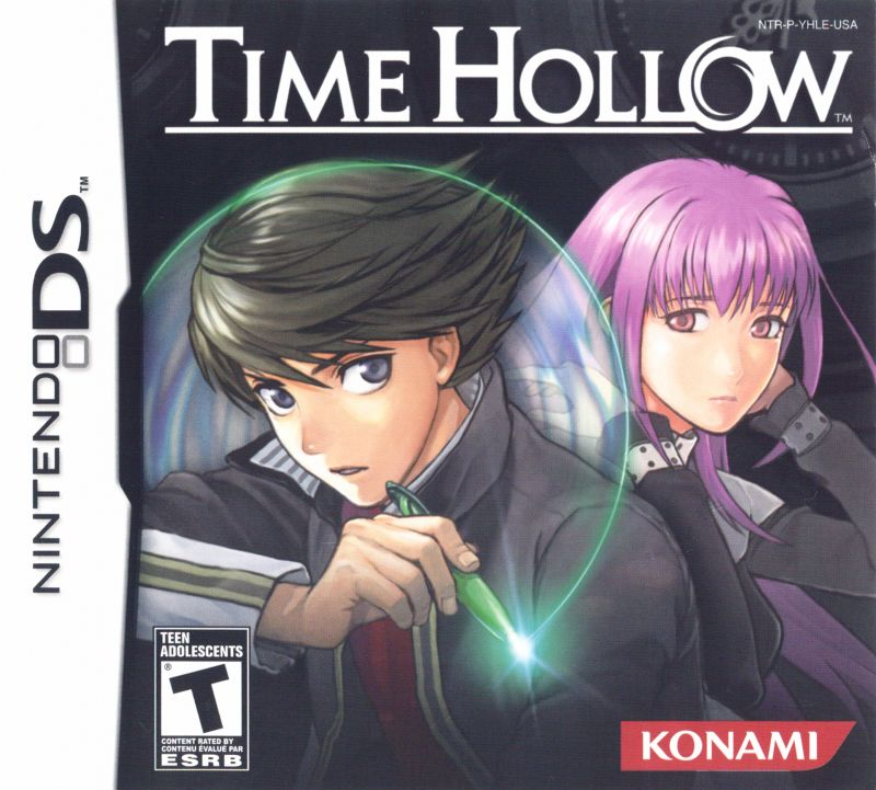 Time Hollow Nintendo DS Front Cover