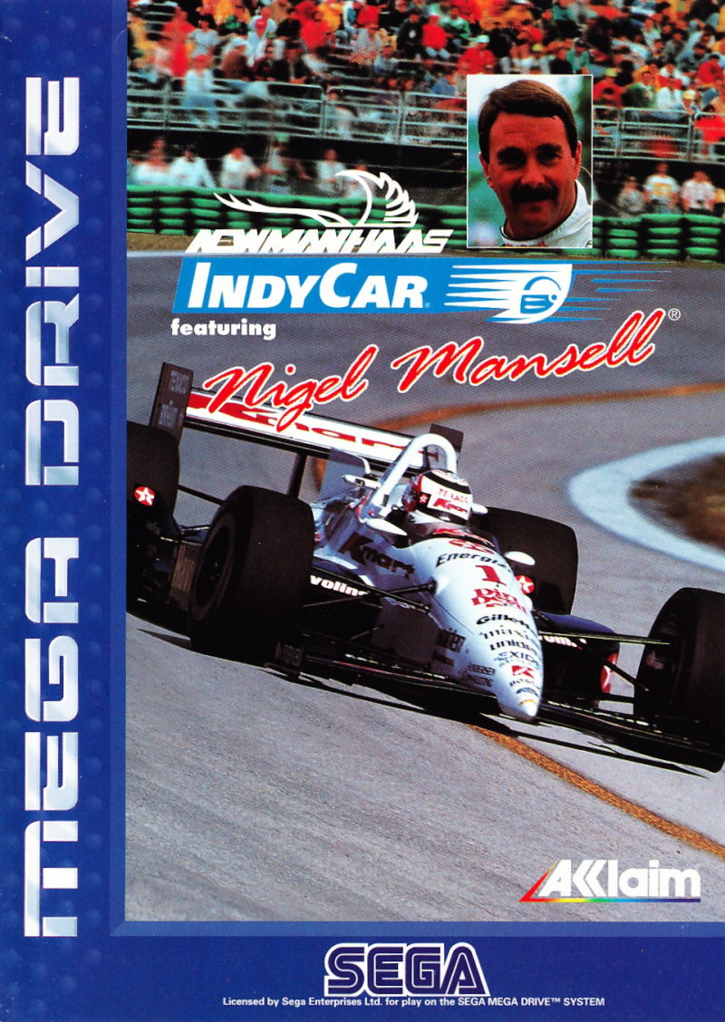 Newman/Haas IndyCar featuring Nigel Mansell Genesis Front Cover