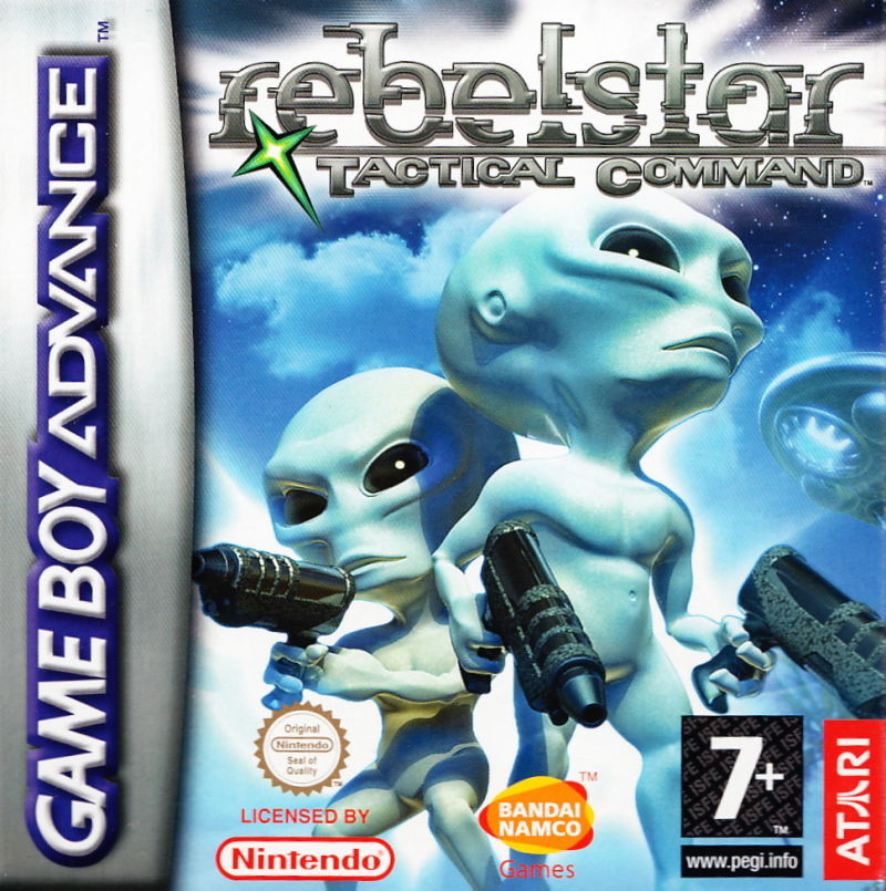 Rebelstar: Tactical Command Game Boy Advance Front Cover