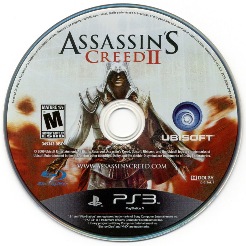 Assassin's Creed II PlayStation 3 Media