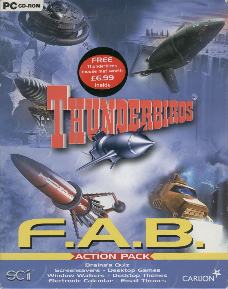 Thunderbirds: F.A.B. Action Pack Windows Front Cover