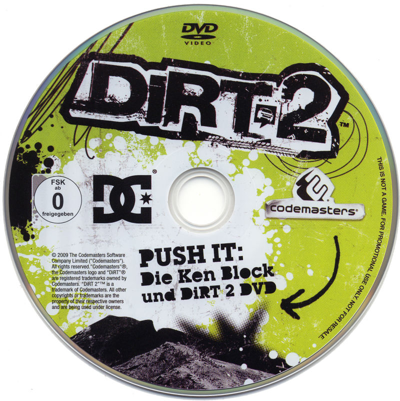 Colin McRae: DiRT 2 (Special Edition) Windows Media Bonus Disc