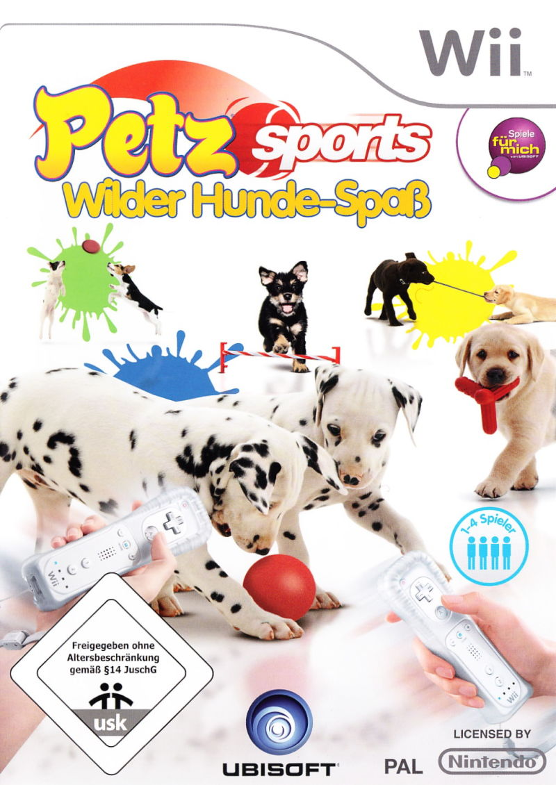 Petz Sports Wii Front Cover