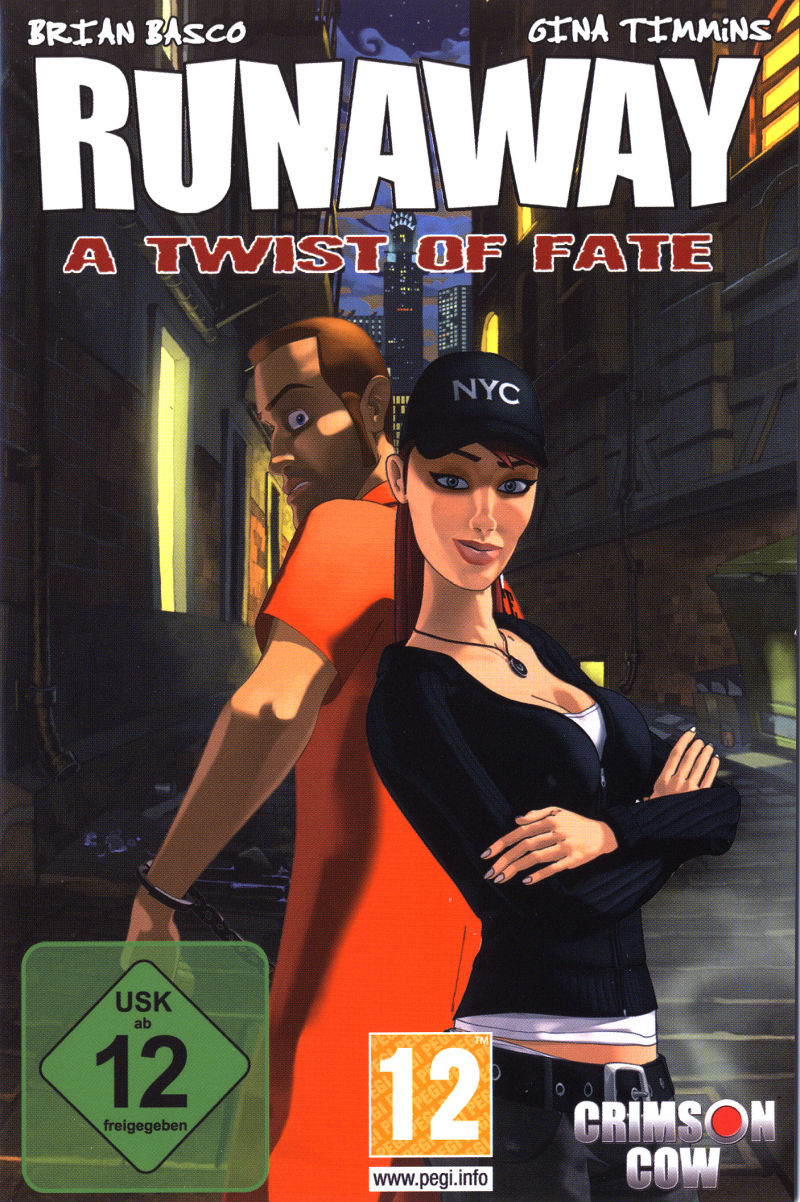 Runaway: A Twist of Fate Windows Front Cover