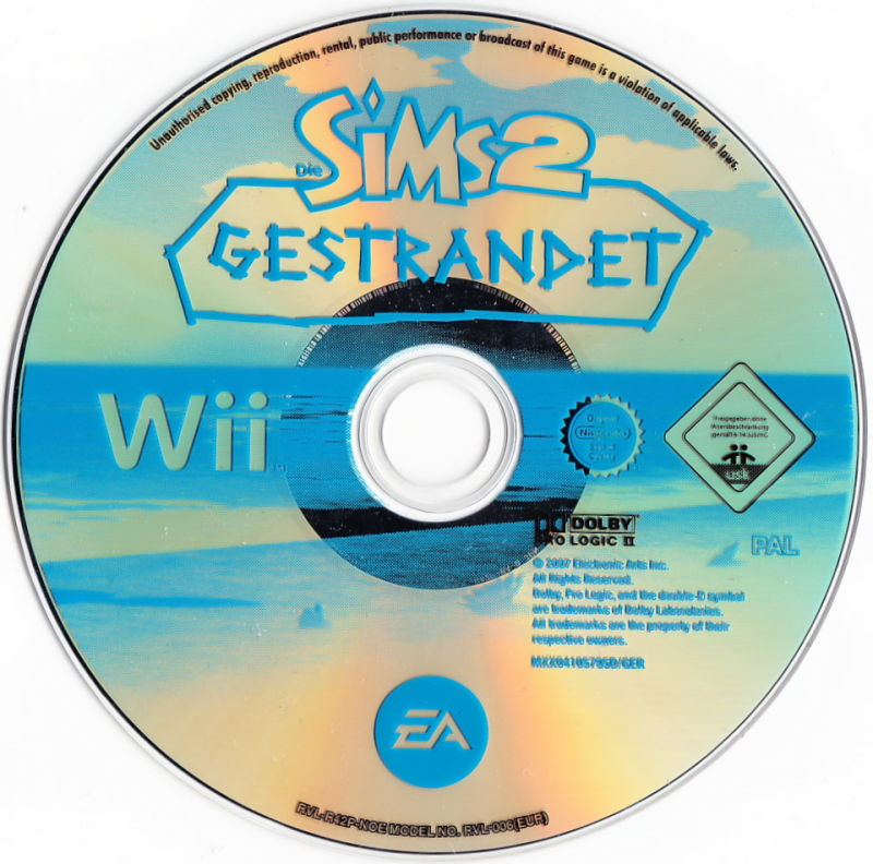 The Sims 2: Castaway Wii Media