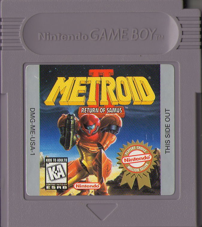 Metroid II: Return of Samus Game Boy Media