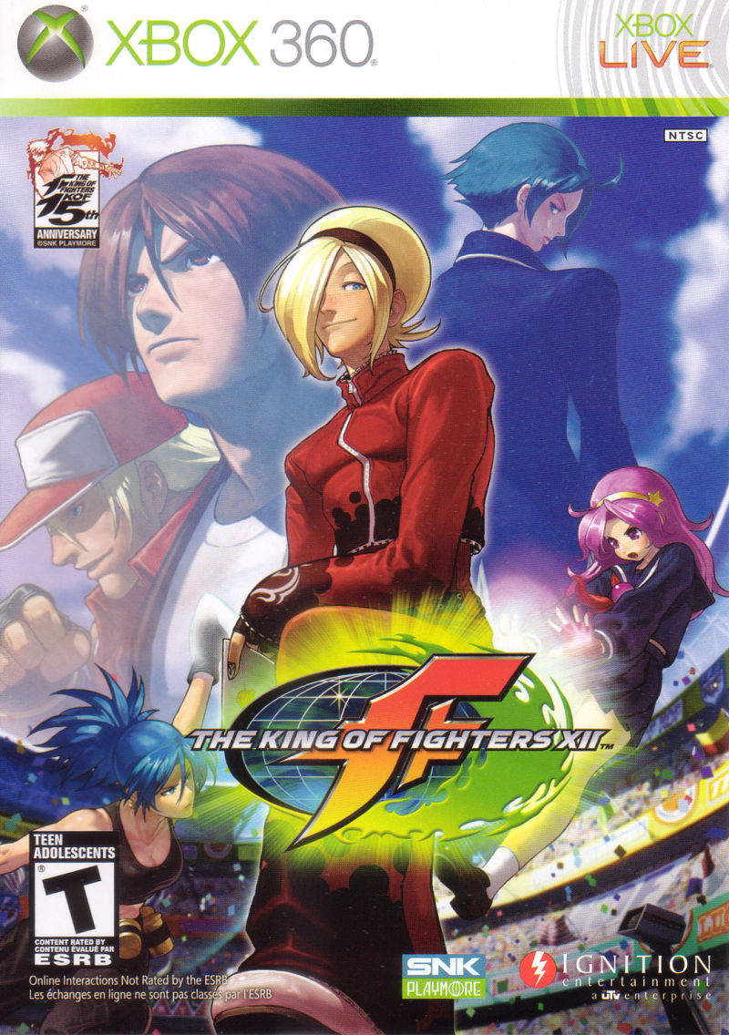 The King of Fighters XII Xbox 360 Front Cover