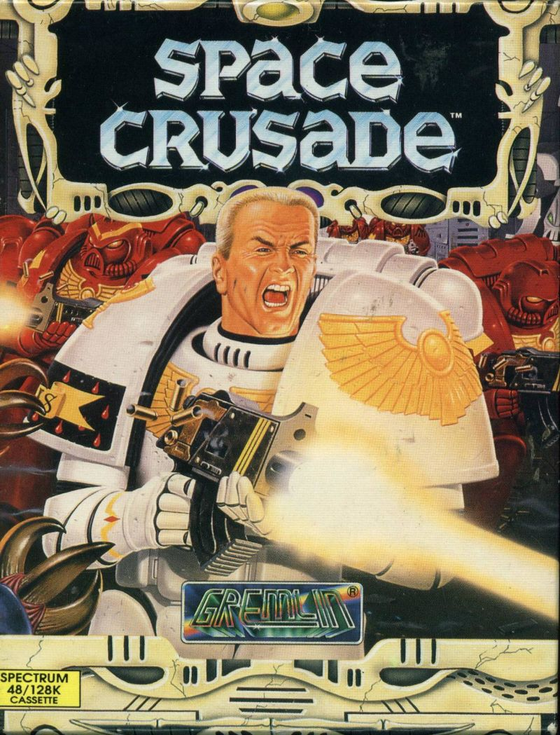 Space Crusade ZX Spectrum Front Cover