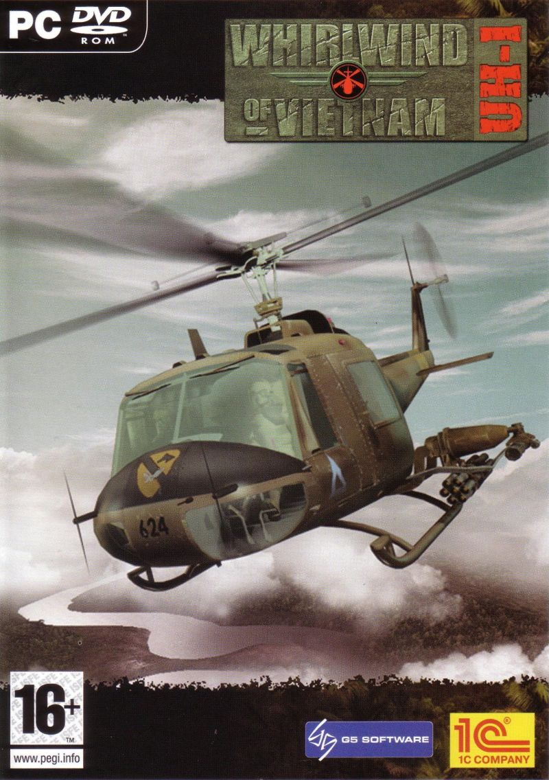 Whirlwind over Vietnam Windows Front Cover