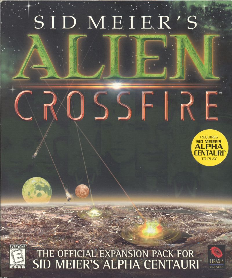 Sid Meier's Alien Crossfire Windows Front Cover