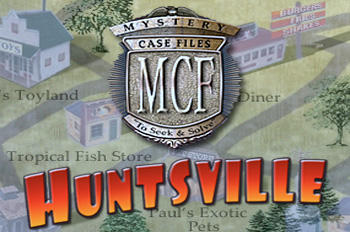 Mystery Case Files: Huntsville Macintosh Front Cover