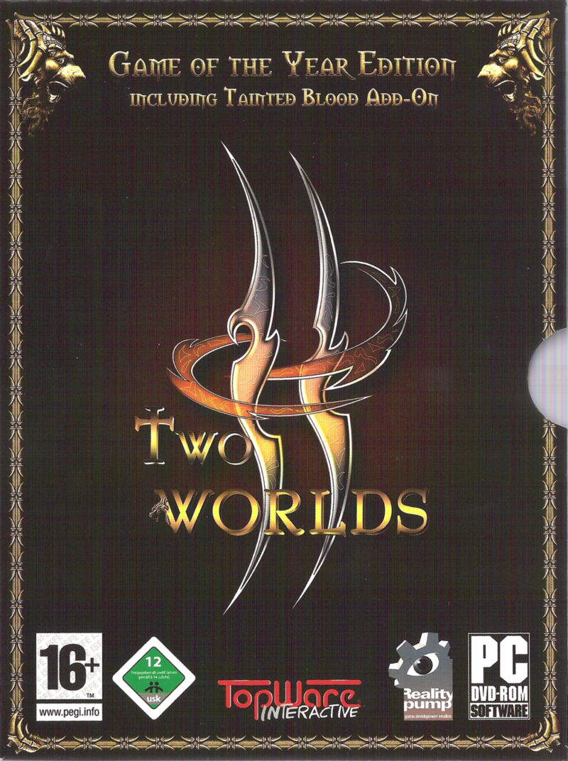 Two Worlds: Game of the Year Edition Windows Front Cover
