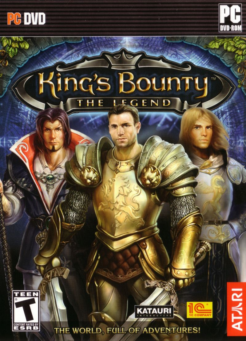 King's Bounty: The Legend Windows Front Cover