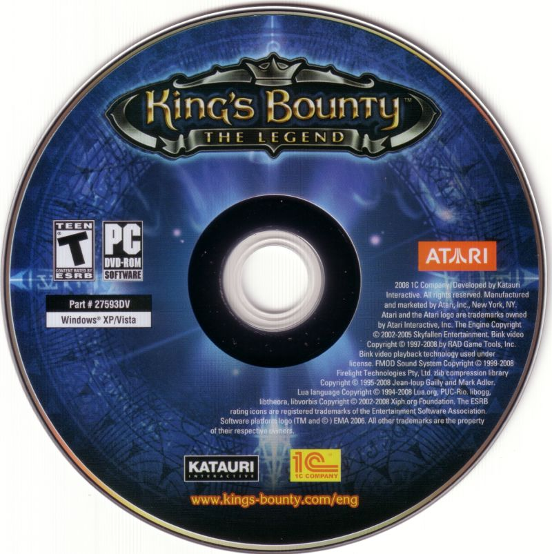 King's Bounty: The Legend Windows Media