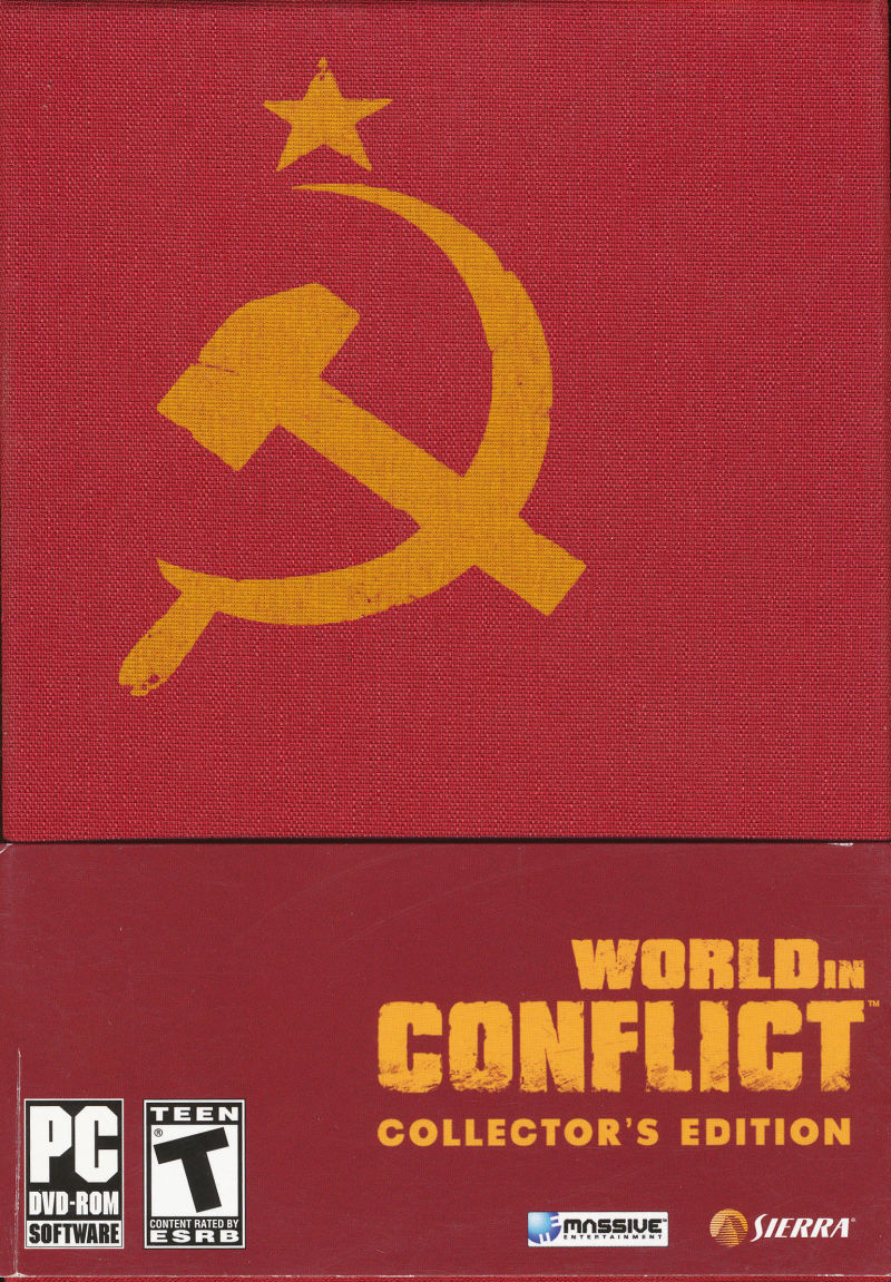 World in Conflict (Collector's Edition) Windows Front Cover