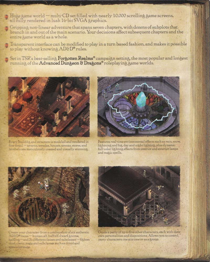 Baldur's Gate Windows Inside Cover Right Flap