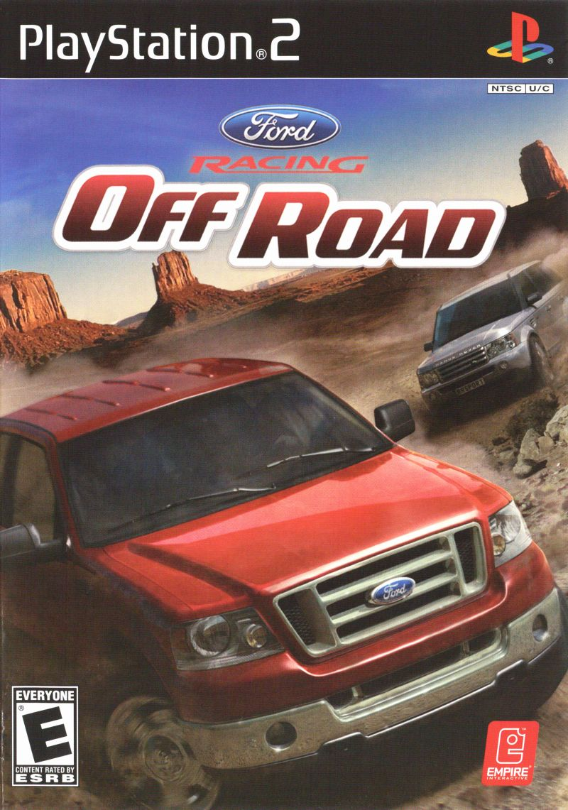 Ford Racing Off Road PlayStation 2 Front Cover