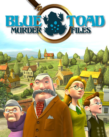 Blue Toad Murder Files: Mysteries of Little Riddle - Episode 1: Little Riddle's Deadly Dilemma PlayStation 3 Front Cover