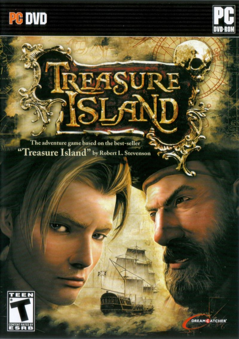 Treasure Island Windows Front Cover