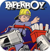 Paperboy iPhone Front Cover