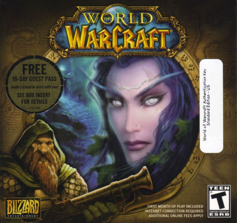 World of Warcraft Macintosh Other Cardboard Disc Case Front