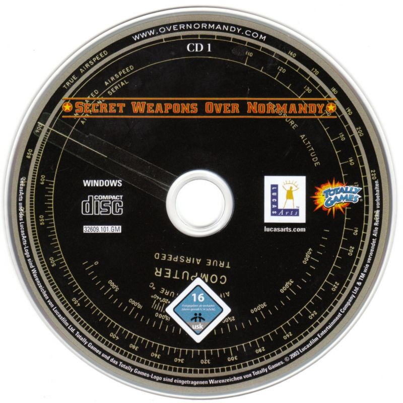 Secret Weapons Over Normandy Windows Media Disc 1