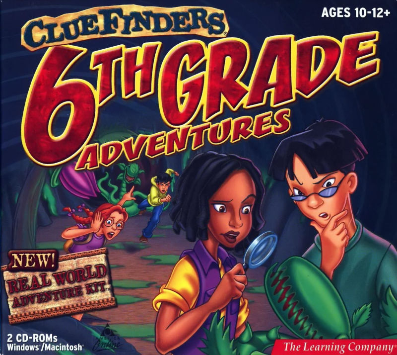 ClueFinders 6th Grade Adventures Macintosh Other Sleeve Case - Front