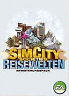 SimCity Societies: Destinations Windows Front Cover German version
