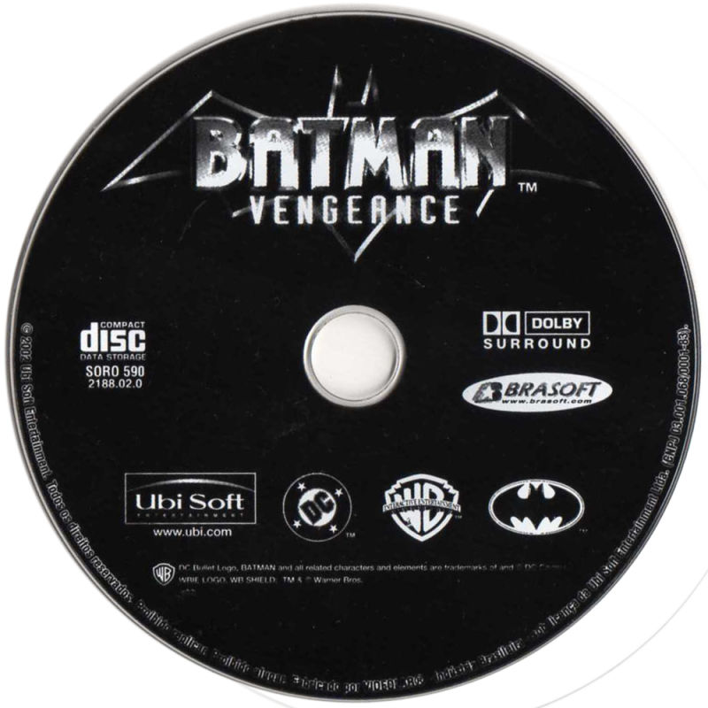 Batman: Vengeance Windows Media