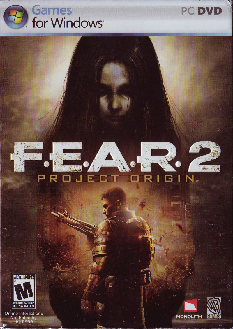 F.E.A.R. 2: Project Origin Windows Front Cover
