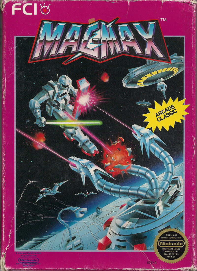 MagMax NES Front Cover