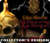 Dark Tales: Edgar Allan Poe's Murders in the Rue Morgue (Collector's Edition) Windows Front Cover