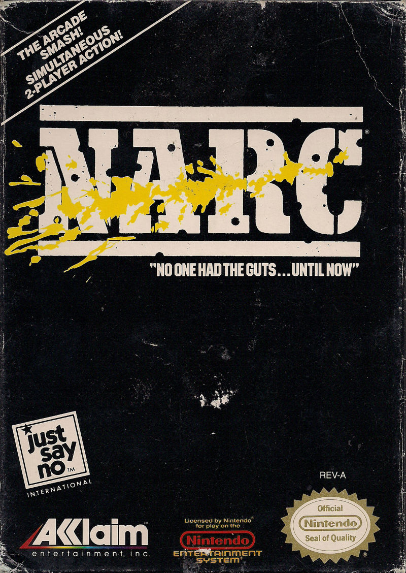 NARC NES Front Cover