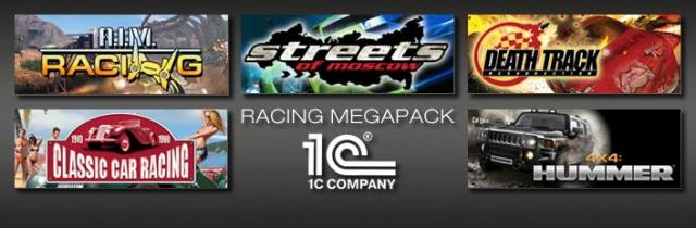 Racing Megapack Windows Front Cover