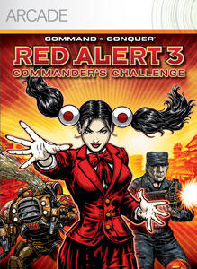 Command & Conquer: Red Alert 3 - Commander's Challenge Xbox 360 Front Cover