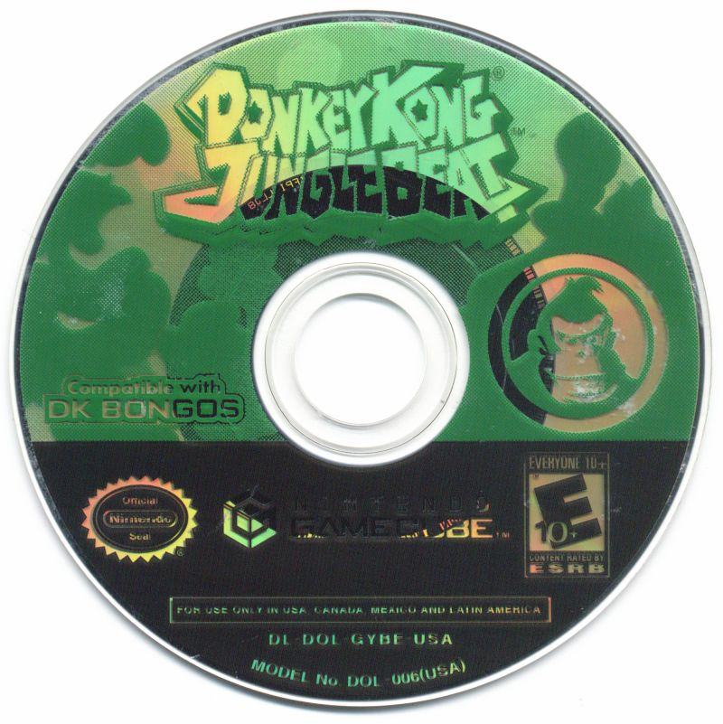 Donkey Kong: Jungle Beat GameCube Media