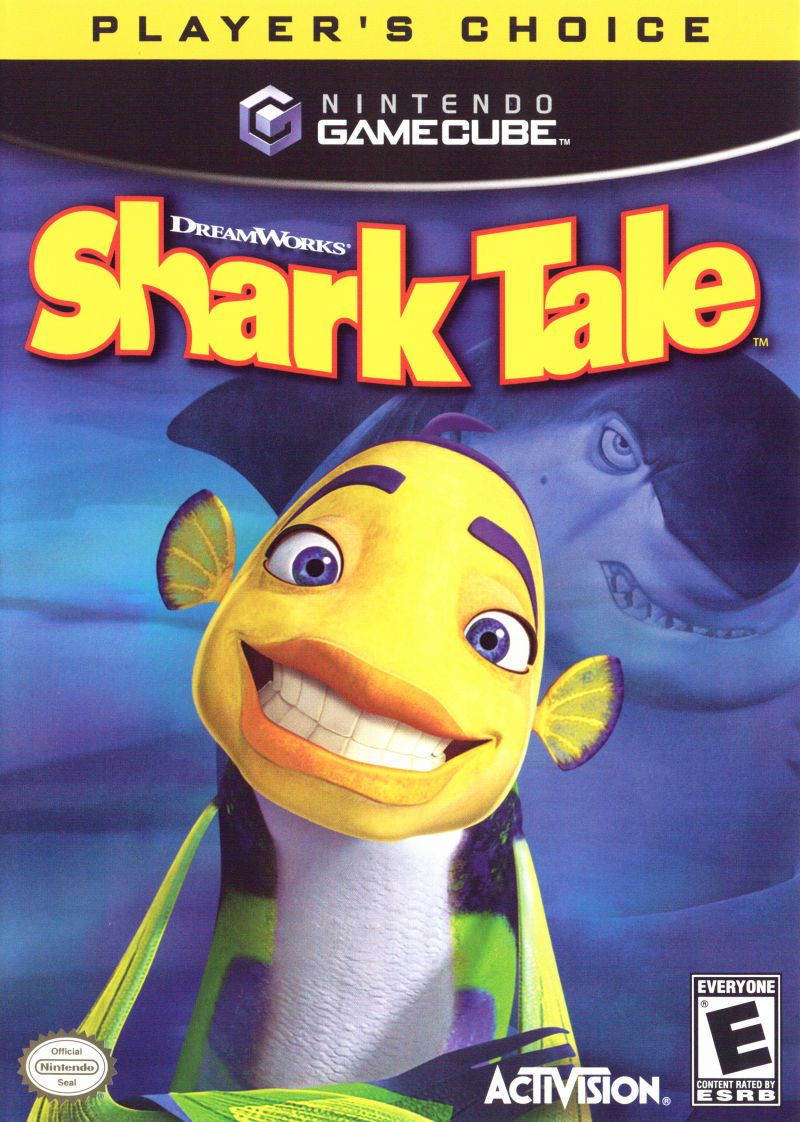 DreamWorks' Shark Tale GameCube Front Cover
