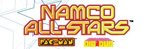 Namco All-Stars: Pac-Man and Dig Dug Windows Front Cover