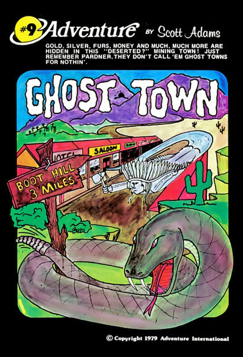 Ghost Town TRS-80 Front Cover
