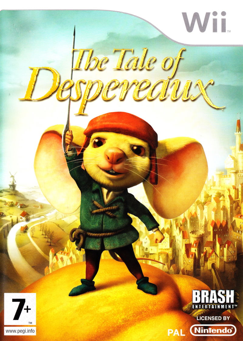 The Tale of Despereaux Wii Front Cover