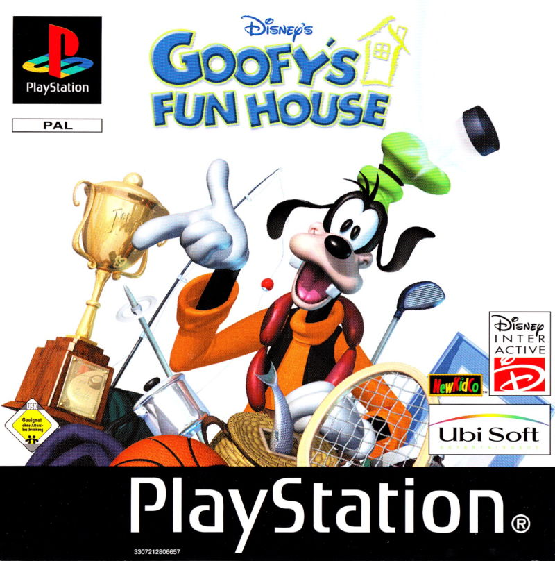 Fun Games For Ps3 : Disney s goofy fun house playstation box cover