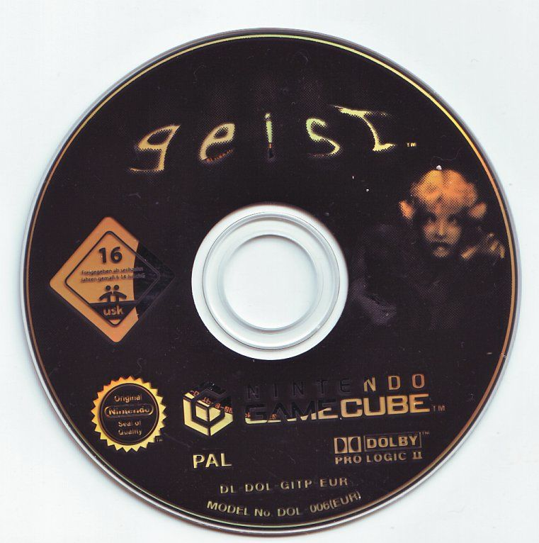 Geist GameCube Media