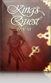 King's Quest 4+5+6 Windows Front Cover