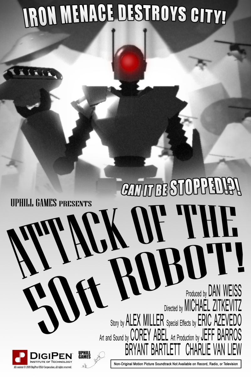 Attack of the 50ft Robot! Windows Front Cover