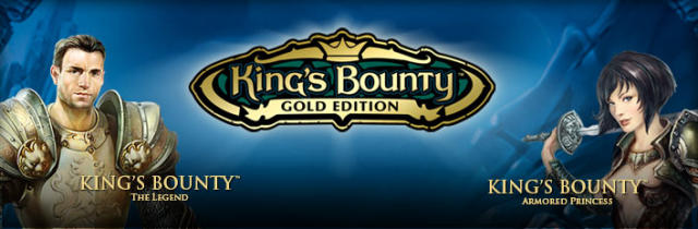 King's Bounty: Gold Edition Windows Front Cover